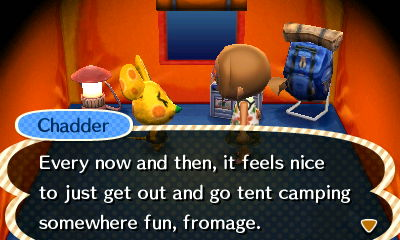 Animal Crossing New Leaf Camping Advice from Starling Travel