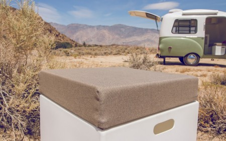 Happier Camper from Starling Travel Cube with Cushion