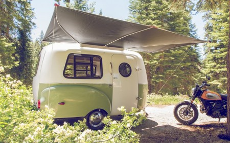 Happier Camper from Starling Travel Lightweight Awning