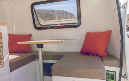 Happier Camper from Starling Travel Table and Cushions