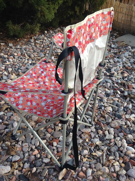 How To Add A Handle To A Camping Chair from Starling Travel