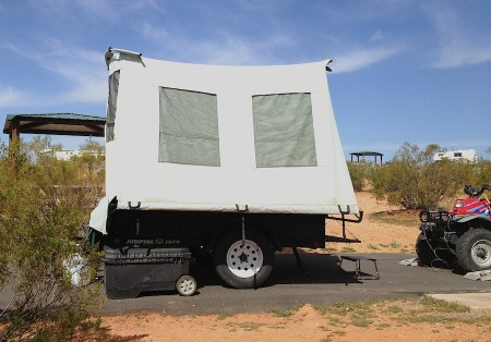 Jumping Jack Tent Trailer from Starling Travel