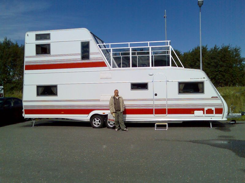 Starling travel the kabe royal tower a camper with a for Rv with balcony