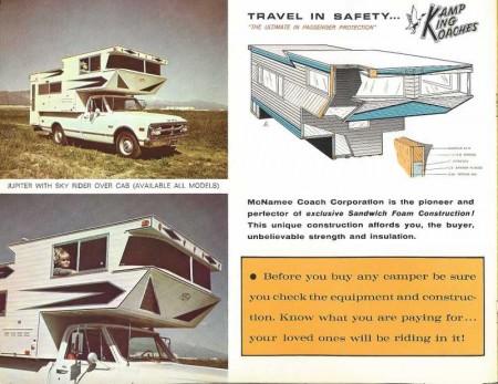 Del Rey Kamp King Sky Lounge Truck Camper brochure