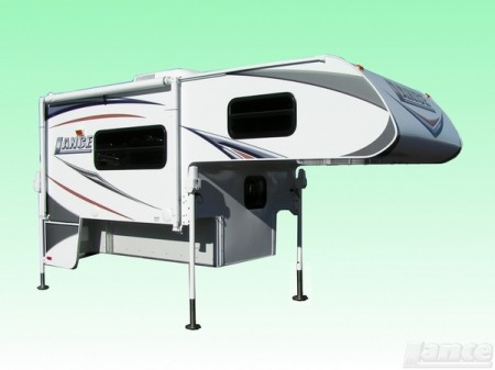 Lance 825 Truck Camper with awning