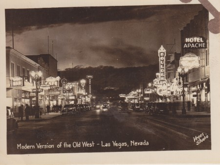 Modern Version of the Old West - Las Vegas, Nevada