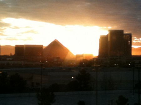Las Vegas Silhouette from Starling Travel