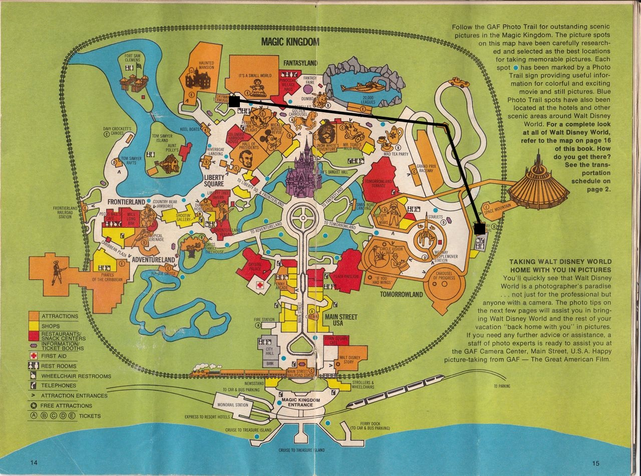 2015 Maps Of Magic Kingdom Disney World | 2015 Calendar Printable