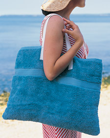 Martha Stewart Beach Bag Tote Tutorial