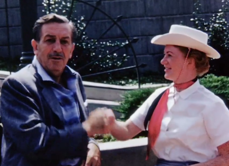 Meeting Walt Disney 1956 from Starling Travel