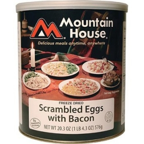 Mountain House Scrambled Eggs and Bacon #10 Can at Amazon.com