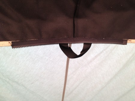New Zipper Springbar Tent