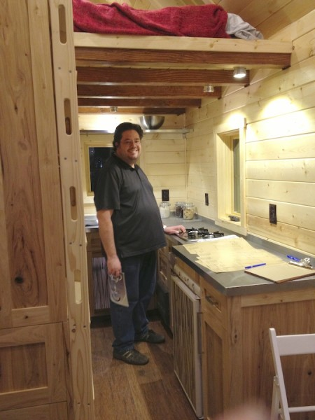 Open Trail Homes: Plenty of headroom for a six foot man from Starling Travel
