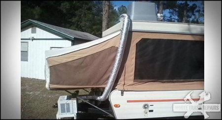 Popup Camper Air Conditioning from Starling Travel