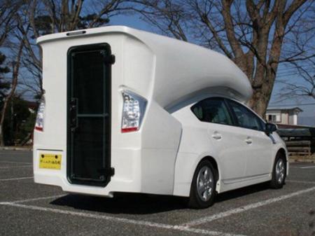 Prius C&inn Motorhome & Starling Travel » The Prius Camper