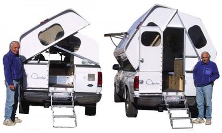 Quickup Camper setup