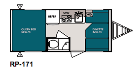 RPod 171 Floorplan from Starling Travel