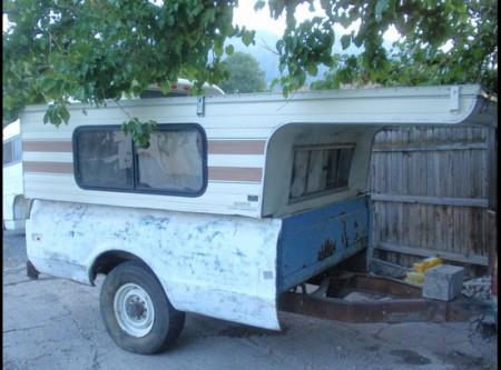 Redneck Popup Camper