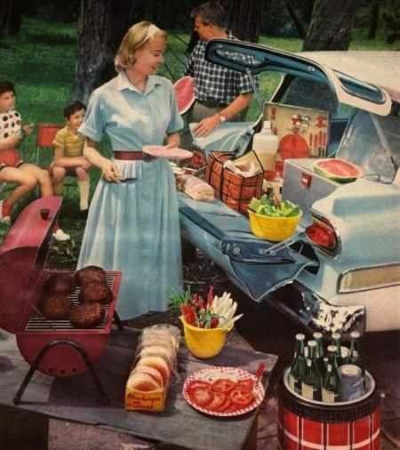 Retro Tailgate Galley from Starling Travel