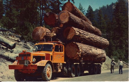 Logging Truck Washington