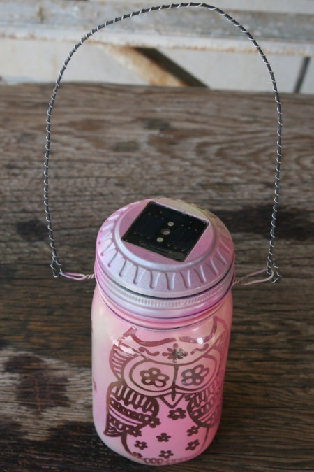 Solar Light Owl Lantern from Starling Travel
