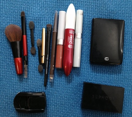 Starling Travel Makeup Travel Bag Contents