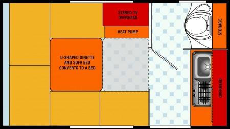 T@B S Floorplan: WITH A BATHROOM!