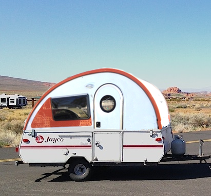 Teardrop Tent Trailer from Starling Travel
