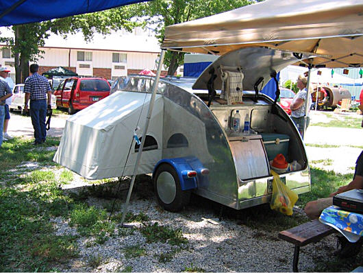 Starling Travel 187 A Pop Out Teardrop Trailer By Randy