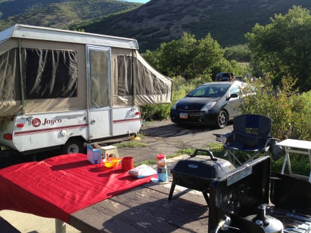 The Last Prius Campout at Wasatch State Park from Starling Travel