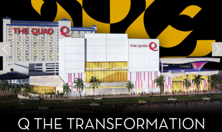 The Quad Hotel and Casio Las Vegas Nevada Transformation