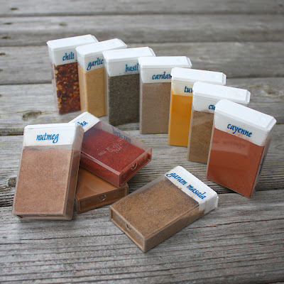 Tic Tac Spice Jars from Starling Travel