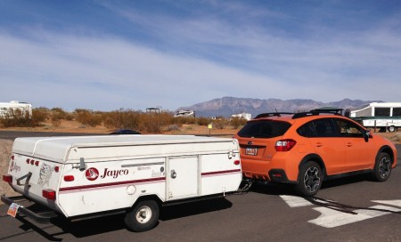Towing with the Subaru XV Crosstrek from Starling Travel