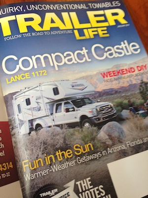 Trailer Life Magazine January 2014 from Starling Travel