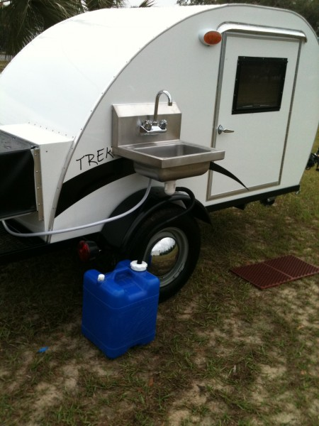 Trekker Trailers Sink System from Starling Travel