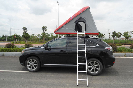 Upal Clamshell Auto Tent from Starling Travel