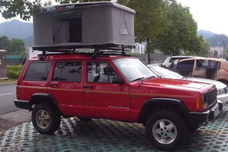 Upal Square Roof Auto Tent from Starling Travel