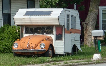 VW Bug Camper By Joseph Kubik