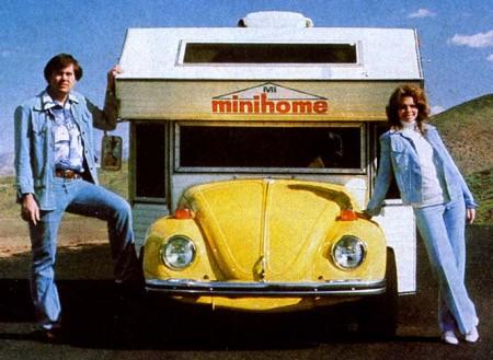 VW Bug MiniHome Camper Motorhome