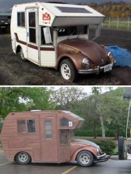 VW Bug MiniHome Camper