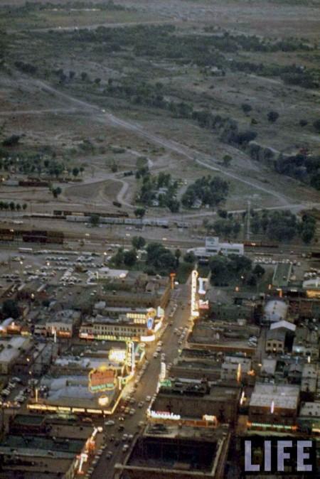 Las Vegas Neon in 1955