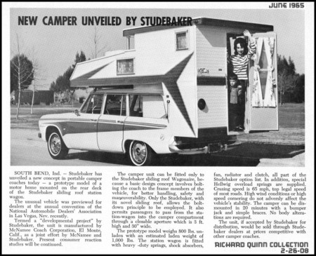 Wagonaire with a Kamp King Camper from Starling Travel
