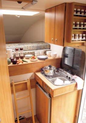 Heku Carcamp kitchen