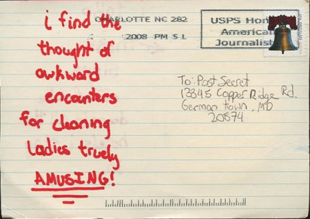 PostSecret: Privacy Please