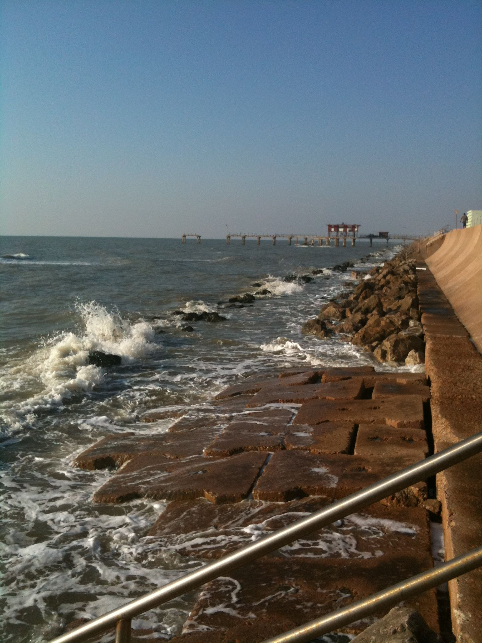 Galveston, TX: A Walk along the Seawall