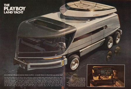 Playboy Land Yacht Concept from Starling Travel