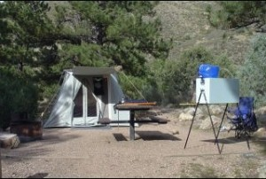 pwef Camp Kitchen with the Springbar tent