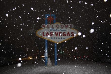 Welcome to Las Vegas? Snow Man by Twoleaf from Flickr